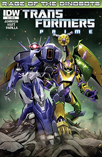 Transformers: Prime - Rage of the Dinobots #3 (of 4) (English Edition)