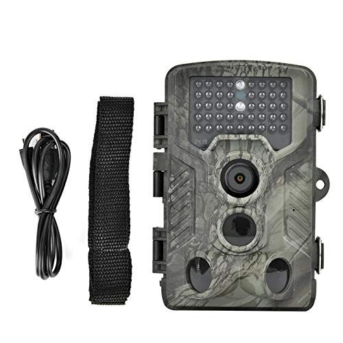 Eulbevoli Cámara de Caza PIR Cámara de Caza 120 ° Lente Gran Angular Sensor de Movimiento infrarrojo, para Deportes al Aire Libre 5.31x3.54x2.99inch