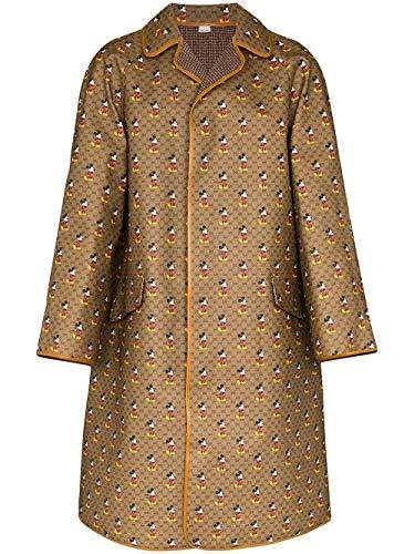 Gucci Luxury Fashion Herren 603479Z8AH02102 Braun Polyester Mantel | Frühling Sommer 20