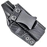 Concealment Express IWB KYDEX Holster fits Ruger LCP | Left | Carbon Fiber Black