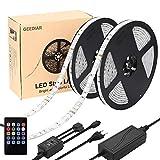 LED Rubans 10m 5050 RGB 300LEDs Imperméable IP65, LED Bande Music, Barre Lumineuse,...
