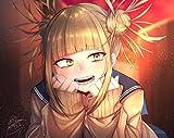 Rompecabezas de madera for mi héroe Academia Cross mi cuerpo / Himiko Toga sonrisa Nombre, 300/500/1000/1500 Piezas, presente regalo creativo for adultos descompresión rompecabezas de dibujos animados