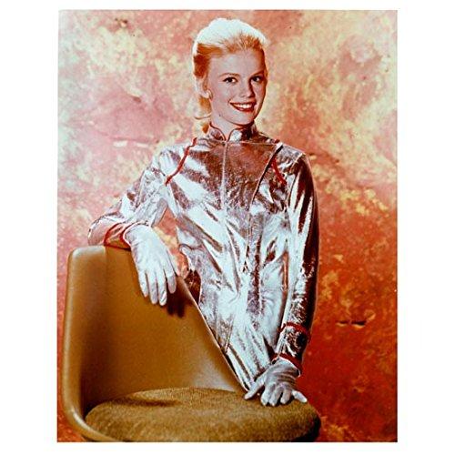 Lost in Space (1965) 8 x 10 Photo Marta Kristen/Judy Robinson Standing Behind Chair kn