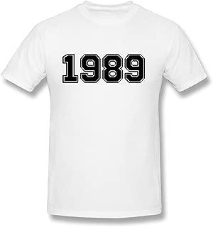 JSFAd Men's 1989 White T-shirt