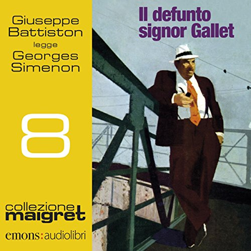 Il defunto signor Gallet audiobook cover art