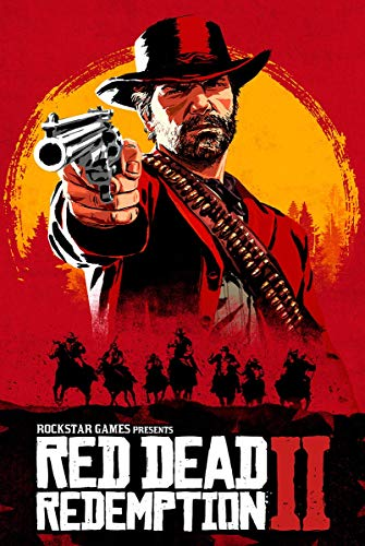 Yutirerly Red Dead Redemption Poster PS4 Xbox 360 24 x 36 Inches (61cm x 91.5cm)