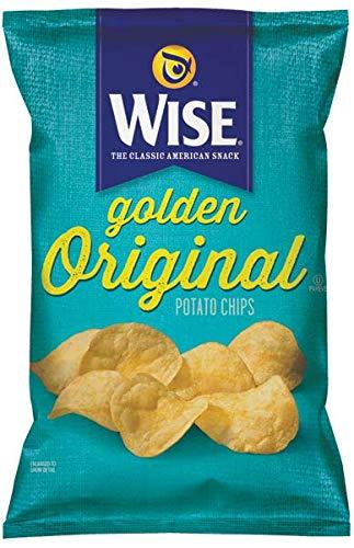 Wise Snacks Potato Chips, Golden Original, 1.25 Ounce (36 Count), Gluten Free