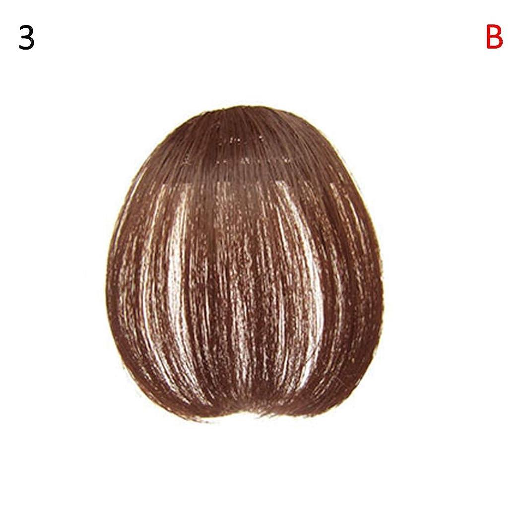応答技術疼痛slQinjiansav女性ウィッグ修理ツールファッションレディース薄いクリップオンエアバンフロントフリンジウィッグヘアエクステンションヘアピース