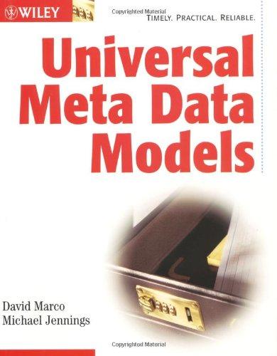 Download Universal Meta Data Models 0471081779