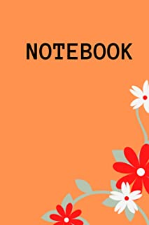 "Notebook: Nice Notebook Journal Gift for loved ones blank lined Notebook 120 pages , size ""6 x 9"""