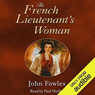 The French Lieutenant's Woman audiobook cover art
