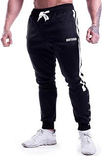 ملابس رياضية للرجال سراويل رياضية قطنية ملائمة لشكل الجسم سراويل رياضية رياضية للركض ملابس المشي سراويل قابلة للتنفس أسفل ...