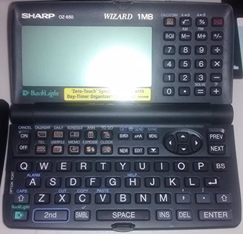 Find Discount Sharp Electronics Corporation Sharp Wizard OZ-650PC Pocket PDA Organizer