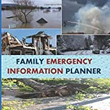 Family Emergency Information Planner: Fits Inside A Large Freezer Bag To Stay Dry. One Place To List Medical Contacts, Prescription Refill, Passwords, Home Contents And Inventory.