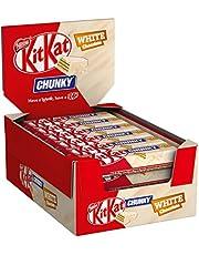 Nestlé Kitkat Mini en Lion Mini-mixer KitKat ChunKy wit 24er Pack