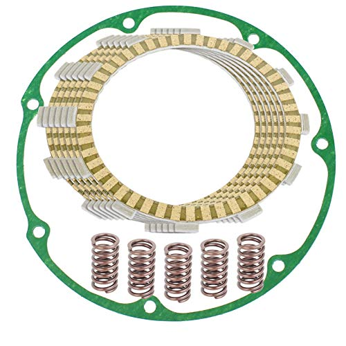 Caltric Clutch Friction Plates And Gasket Kit Compatible With Honda Vt700C Shadow 700 1984-1987