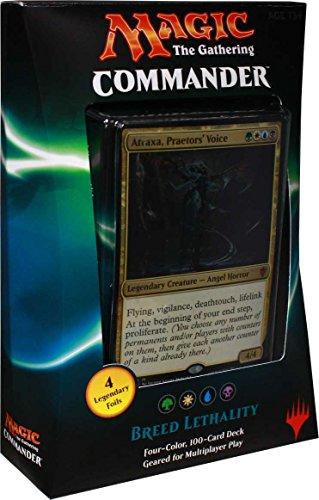 Magic the Gathering Commander 2016 Deck - Breed Lethality (GWUB)