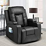 Comhoma Leather Recliner Chair...