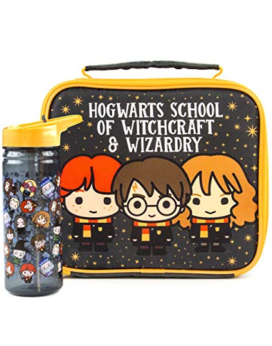 El almuerzo Bolsa Harry Potter botellas conjunto Carácter