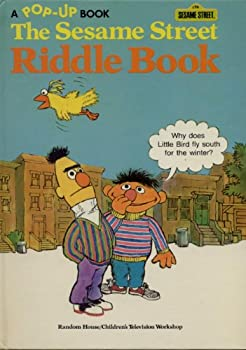 Hardcover The Sesame Street Riddle Book: A Pop-Up Book #11 Book