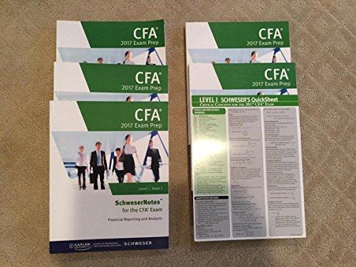 2017 CFA Level 1 Exams Schweser Study Notes