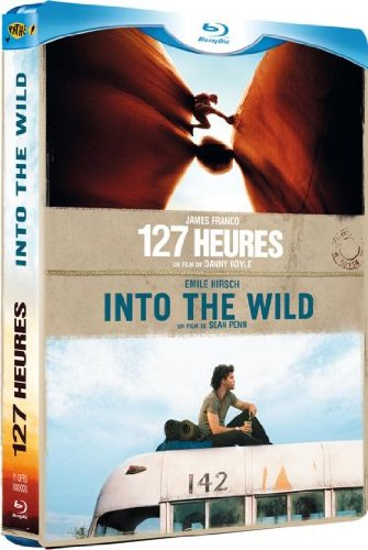 127 heures + Into the wild - Coffret 2 Blu-ray