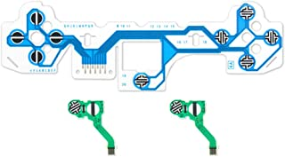 ciriQQ Repuesto de botones LR clave de cruz cable flexible para controlador PS5, día de San Valentín, Pascua, Halloween, N...