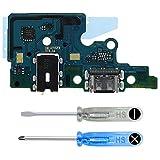 MMOBIEL Conector Dock de Carga Puerto de Recarga Compatible con Samsung Galaxy A70 A705 2019 6.7 Inch USB Tipo C Cable Flexible Incl. Herramientas