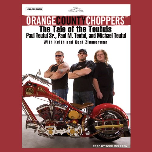 Orange County Choppers audiobook cover art