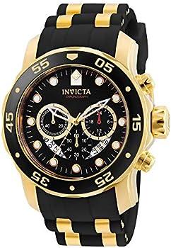 Invicta Men's Pro Diver Scuba 48mm Gold Tone Stainless Steel Quartz Watch