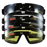 Birdz Eyewear Wing Series Goggles (Clear, Blue, Yellow, Smoke Lens) - Set of 4