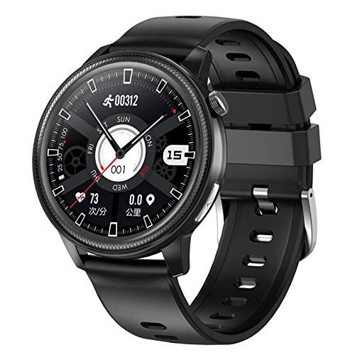 S31 Bluetooth Smart Watch Men's Impermeable ECG + PPG Pulsera con Cronómetro Sphygmomanómetro Rastro Cardíaco Fitness Tracker Pulsera para Android iOS,A