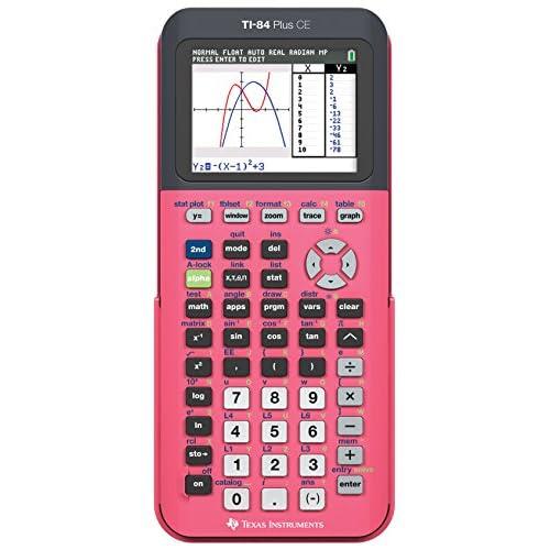 Texas Instruments ti-84 Plus Ce Calcolatrice a colori, Corallo