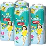 【パンツ Lサイズ】パンパース オムツ さらさら風通しパンツ (9~14kg) 160枚(40枚×4パック) ケース品