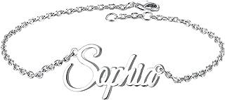 Custom Infinity Name Bracelet Personalized, Customized Engraved Link Bracelet Jewelry Gift for Women