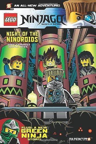 LEGO Ninjago  9  Night of the Nindroids by Farshtey, Greg (2014) Paperback