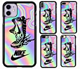 Funda iPhone 5 Case/5S Case/SE Case Soft Silicone Gel Rubber Bumper N Hyebeast Hographic C-245