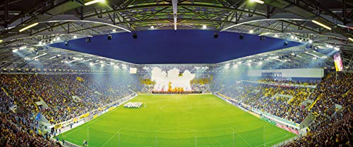 Dresden Stadion Panorama - Poster 120 x 50 cm - hochwertiger FineArtPrint