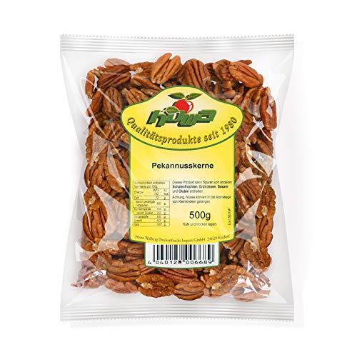 Howa Premium Pekannusskerne – Pekannüsse ungesalzen und naturbelassen – Ideal zum Kochen, Backen oder als gesunder Snack – süße Schwester der Walnuss – 500 g