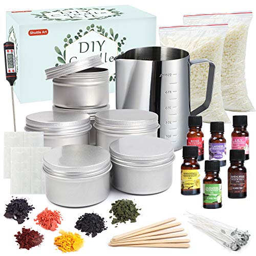 Candle Making Kit, Shuttle Art DIY Candle Making Supplies with Candle...