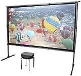 Elite Screens Yard Master 2 Dual 120' 16:9 Aluminio, Negro, Color Blanco Pantalla de proyección -...