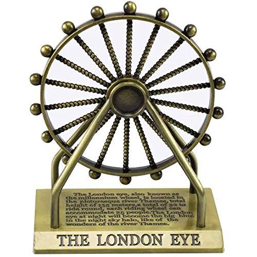 Heritan Decorative Vintage Ferris Wheel - London Eye, Metal Home DéCor Photography Prop Souvenirs Gift