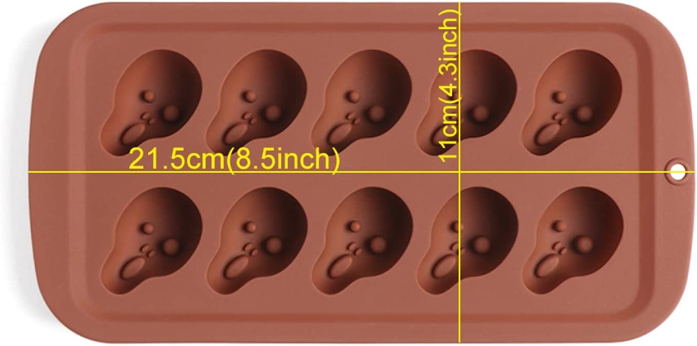 Halloween Silicone Mould Pumpkin Cake Skeleton Chocolate OFFicial H Decor 70% OFF Outlet
