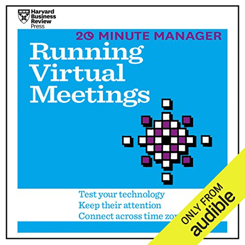 20 Minute Manager: Running Virtual Meetings audiobook cover art