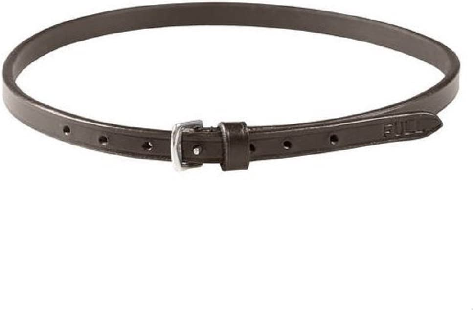 HORZE Dark Brown Flash Strap English Noseband Many popular brands P 2021 model Headstall Bridle
