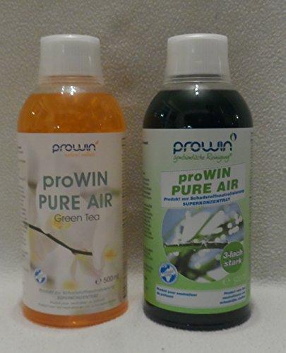 ProWin Pure Air 500 ml & Pure Air Green Tea 500 ml