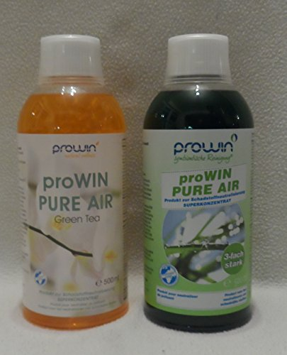 ProWin Pure Air 500 ml & Pure Air Green Tea 500 ml