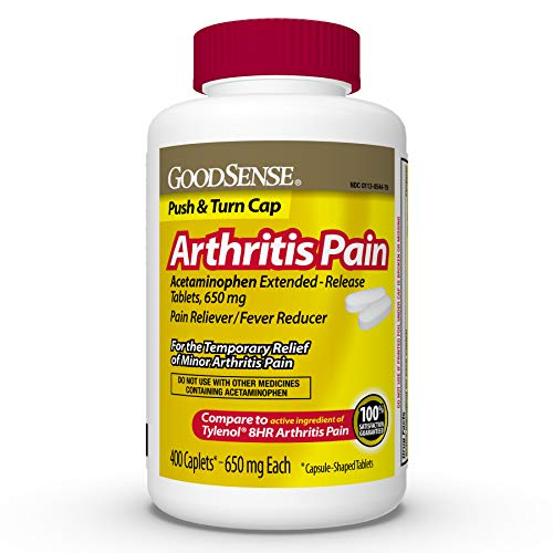 GoodSense Acetaminophen Extended-Release Tablets, 650 mg, Arthritis Pain, 400 Count
