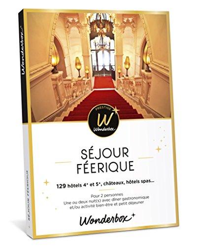 Coffret Wonderbox Prestige Séjour féerique