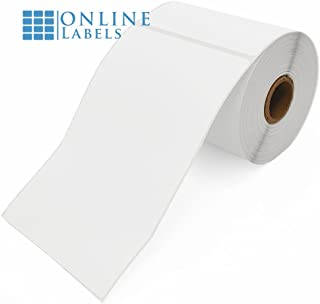 4 x 6 Shipping Labels for Direct Thermal Printers - 250 Labels Per Roll, 4 Rolls Totaling 1,000 Labels - Online Labels